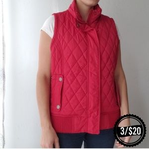 🌴 Maurices Red Vest